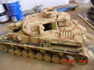 panzer - PANZER 4 ausf.F Mini_638452CIMG1918