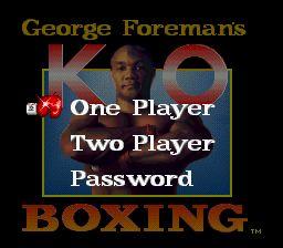 George Foreman's KO Boxing - Fiche de jeu Mini_640880561