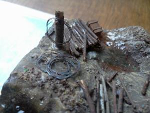 Une TRANCHEE à CRAONNE en 1917_1/72e_ Grognard Mini_652151Photo002