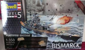 BISMARCK 1/350 Platinum Edition Mini_665731DKMBismarck01