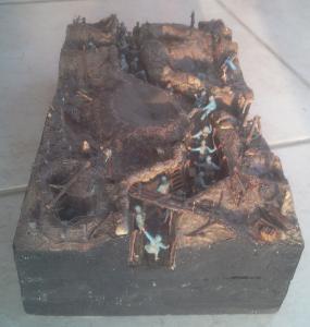 Une TRANCHEE à CRAONNE en 1917_1/72e_ Grognard Mini_681931tranche12fevr1210