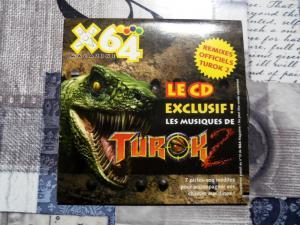 CD audio Killer Instinct, Player One, Turok, Psygnosis soundtrack vol  Mini_7154591004580