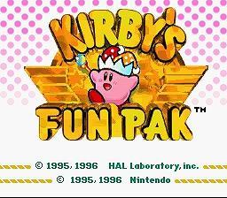 Kirby's Fun Pak - Fiche de jeu Mini_829643991