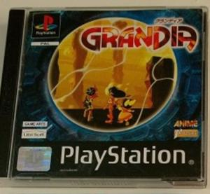 "Jeux ""multi-version"" black label PS1 Mini_860406Grandia1"