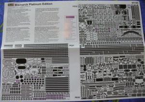 BISMARCK 1/350 Platinum Edition Mini_860603DKMBismarck36