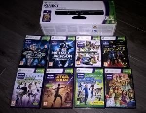 [Vds] Lot Kinect et 8 jeux et divers jeux Xbox 360 Mini_877498WP20170604204128Pro4