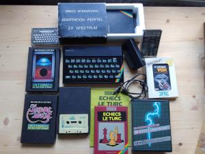[Estim] Lots Schneider VG5000µ & Sinclair ZX Spectrum + access & softs Mini_925753szxs