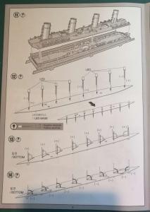 RMS Titanic 1/700 LED Set ACADEMY Mini_931527TitanicAcademy17