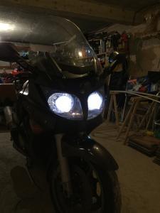 Optique - phare lenticulaire sur FJR Mini_947388veilleuseetcode