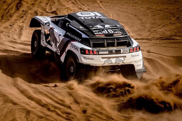 1ère VICTOIRE DE LA PEUGEOT 3008DKR Rallye du Maroc – Étape 3/5 11212814479674