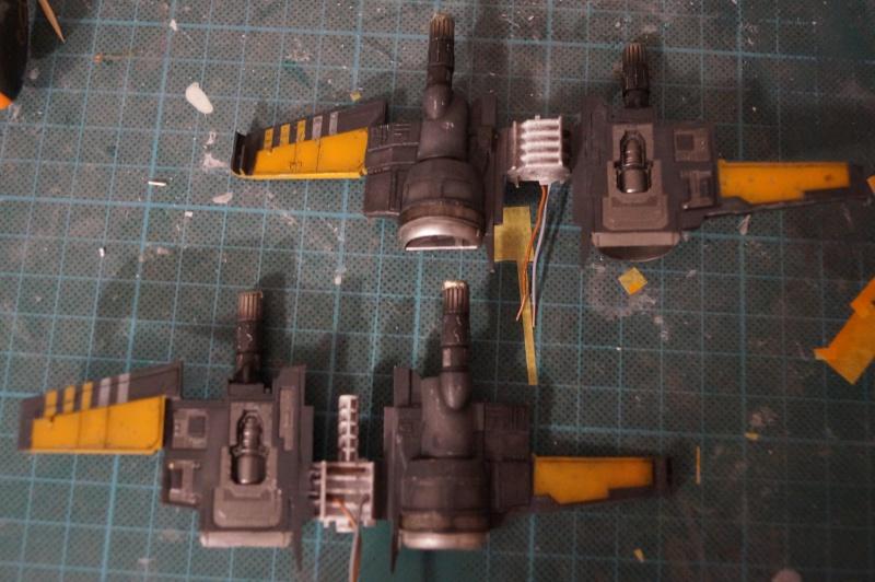"X-Wing ""Resistance"" T-70 Bandaï 1/72 114145DSC01432"