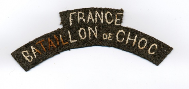 LES INSIGNES DU BATAILLON DE CHOC 1943/1963. - Page 2 114843JeanMarcFIM3