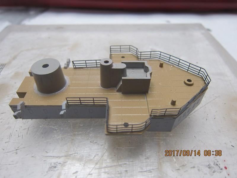 Cuirassé Admiral SCHEER hELLER 1/400 116395IMG4848Copier