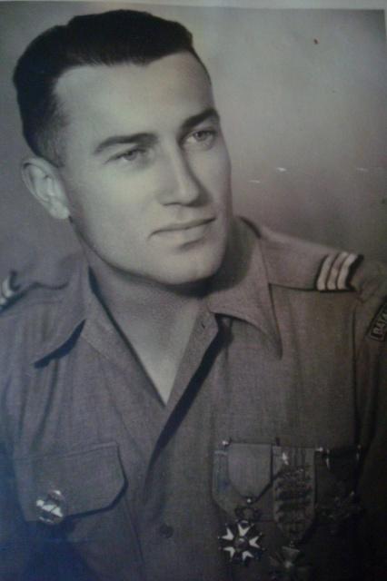 LES DÉCORATIONS AU CHOC 1943-1945. 118318CapLefortMai45