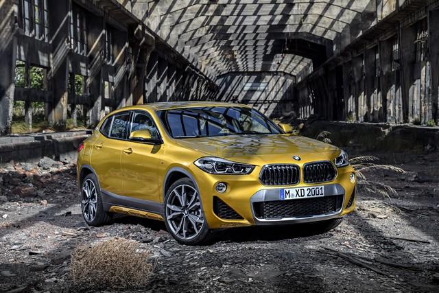 La nouvelle BMW X2 Silhouette élégante, dynamique exceptionnelle 118936P90278970highResthebrandnewbmwx2