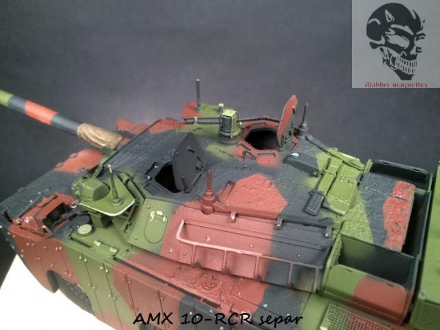 AMX 10 RCR SEPAR maquette Tiger Model 1/35 - Page 2 122814IMG3803