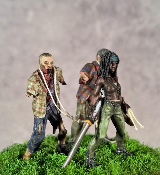 Zombies et Noël - Page 2 124043Michonneetsesrodeurs3