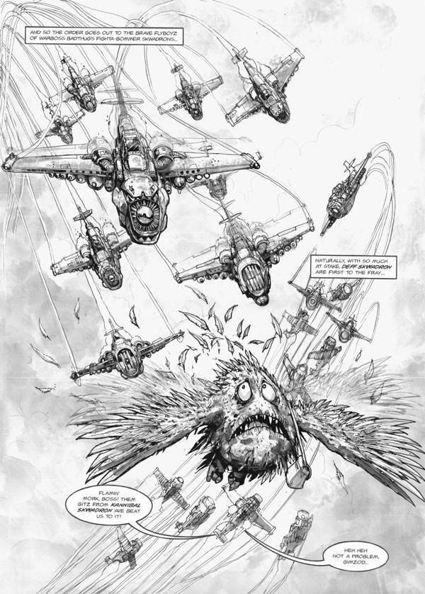 Deff Skwadron de Gordon Rennie & Paul Jeacock (Graphic Novel) 125196poddeffskwadron1
