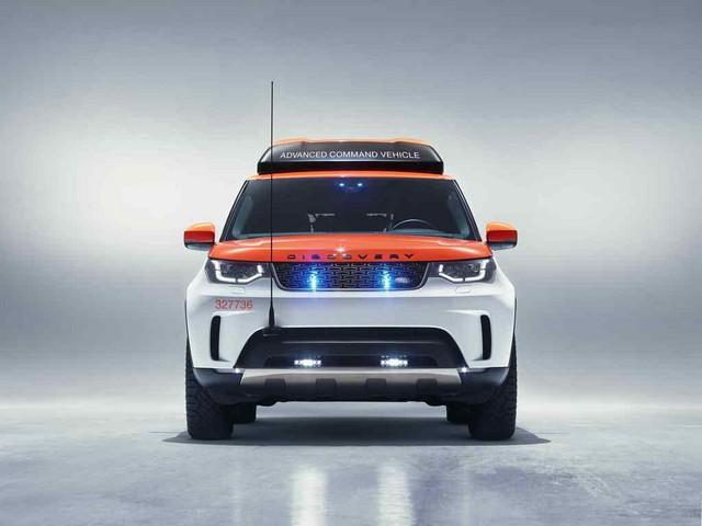 Project Hero, une version unique du nouveau Land Rover Discovery pour la Croix Rouge autrichienne  126922deadon