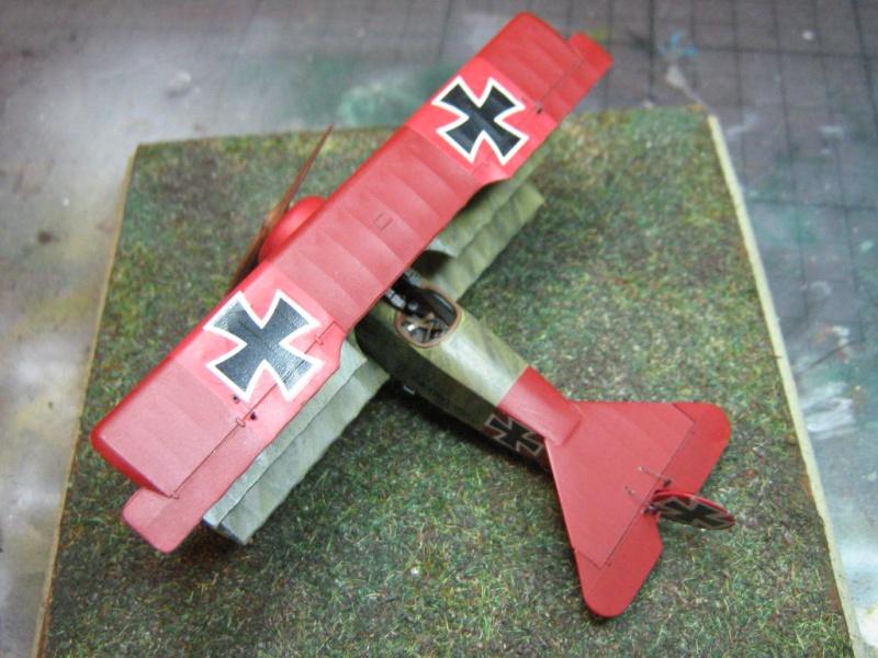 [Eduard] Fokker Dr I 152/17 Rittm Manfred von Richthofen Mars 1918 129961IMG0283