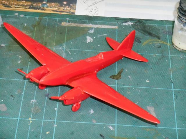 DE HAVILLAND D H88 kit Airfix 1959 130122DSCN9388