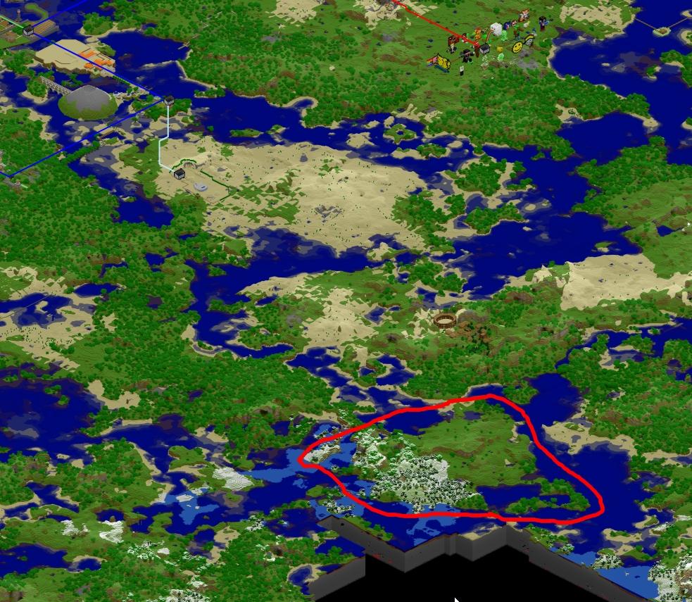 [Projet] L'île de Kubec (et sa ville au nom éponyme) 131985ileminecraft
