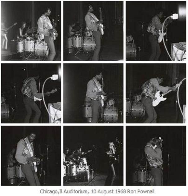 Chicago (Auditorium Theatre) : 10 août 1968 132753Chicago