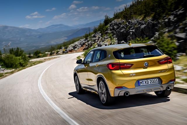 La nouvelle BMW X2 Silhouette élégante, dynamique exceptionnelle 134431P90278978highResthebrandnewbmwx2
