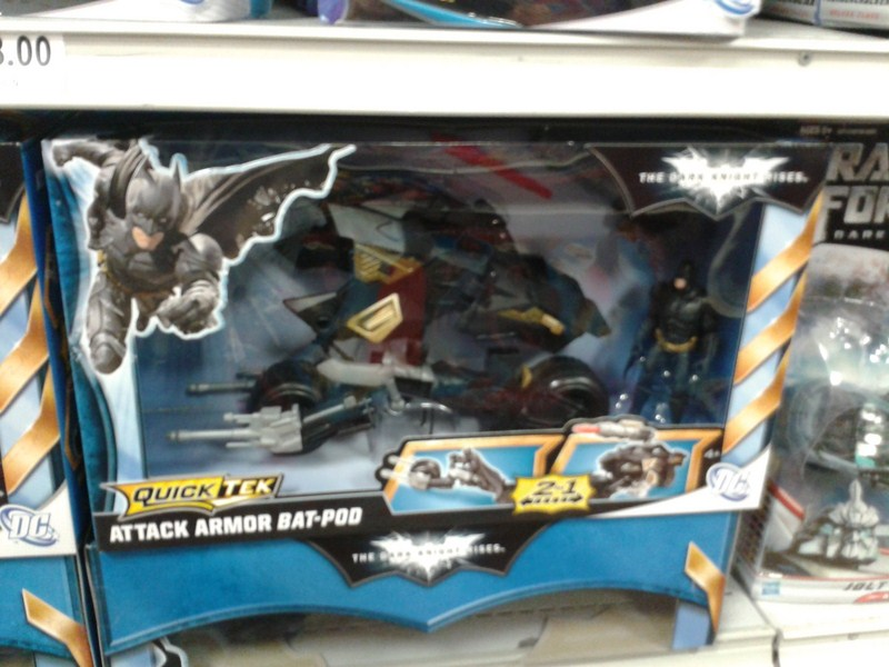 """The Dark Knight Rises Toys - movie master, deluxe, 4"""", vehicles etc... 13665120120609132550"""