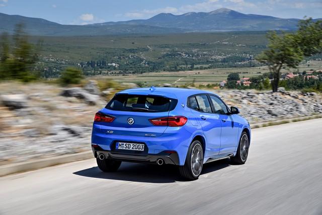 La nouvelle BMW X2 Silhouette élégante, dynamique exceptionnelle 141214P90278942highResthebrandnewbmwx2