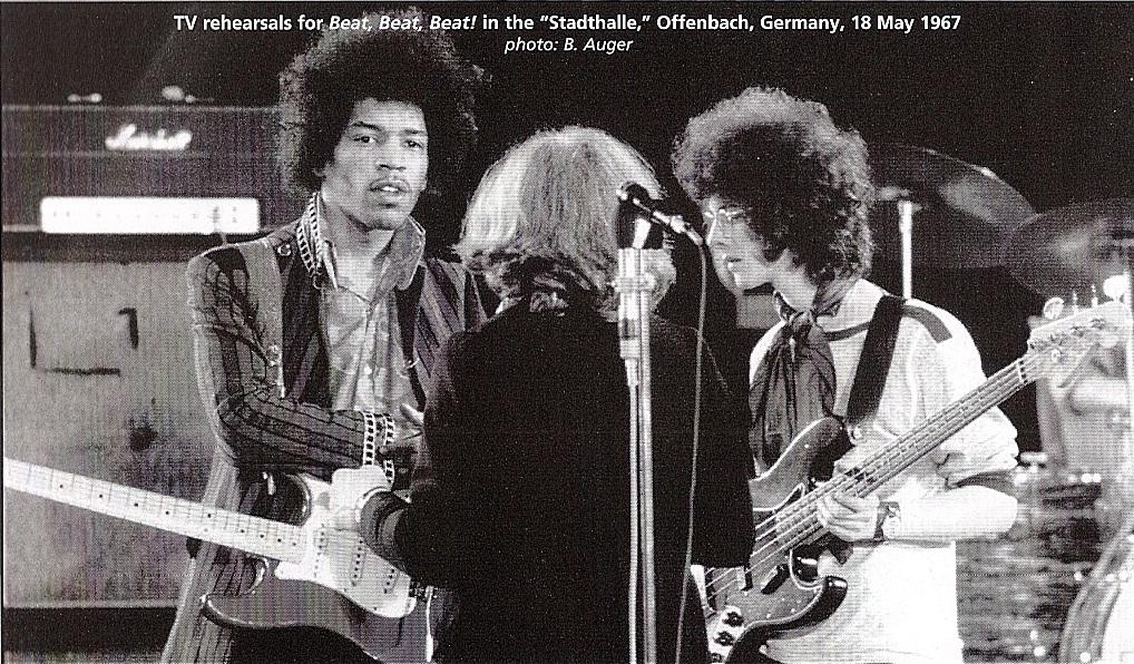 """Beat Beat Beat"" (émission allemande) : 18 mai 1967  141313rehearsals"