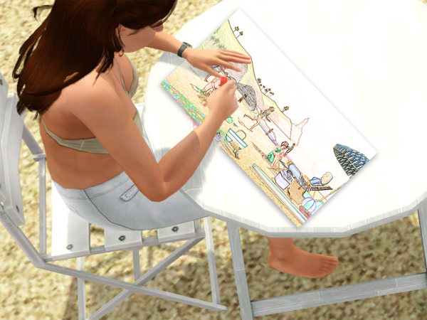 Studio Linette - Galerie - Page 4 141663Linettedessinezoomdessin