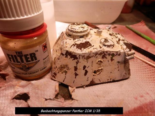 réhabilitation d un Béobachtungspanzer Panther ICM 1/35 141811P4240387