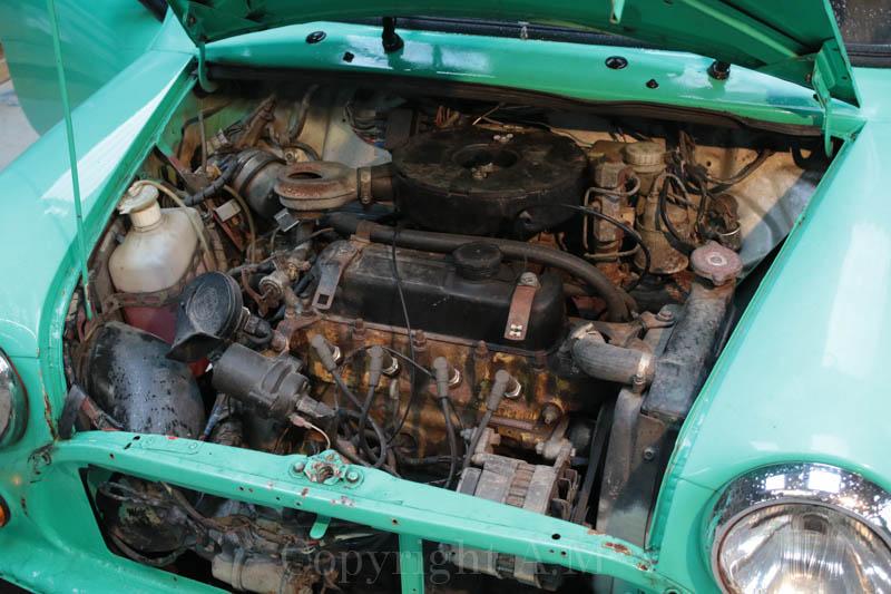 Restauration d'une Austin de 1980 142701557A5208
