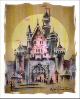 [Disneyland Park] The Disney Gallery - Exposition Crowning Achievements Creating Castles for Magical Kingdoms 143408cas7