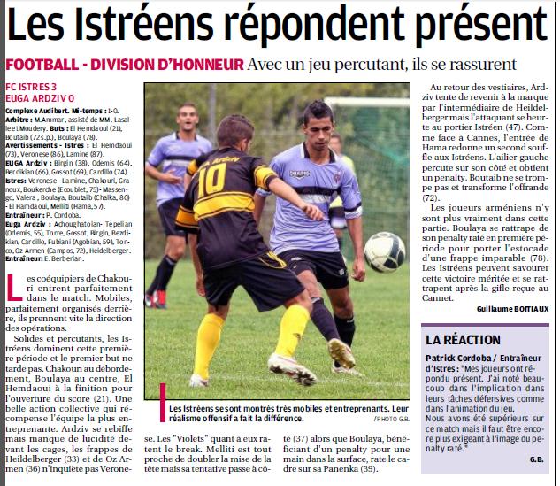 FC ISTRES B  // DHR  MEDITERRANEE  et AUTRES JEUNES  - Page 13 1435626816