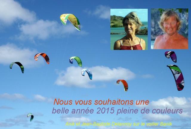 BANIK : de La Réunion à Bonne Espérance 144264Voeux2015