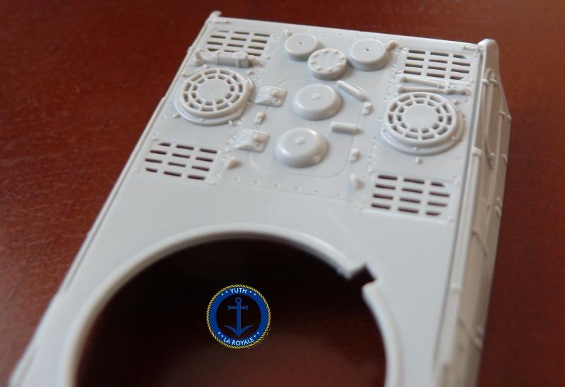 """Konigstiger """"porsche turret"""" 1/72 Trumpeter 145589P1080401"""