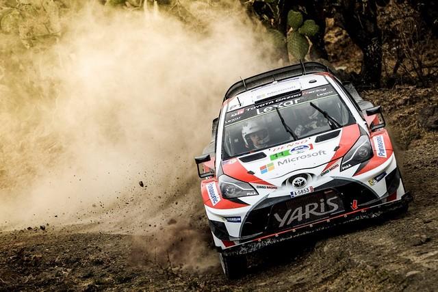 Les Équipages Toyota Gazoo Racing Marquent Des Points Au Mexique 146278car11hanninenlindstroumlm
