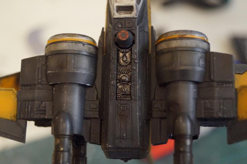 "X-Wing ""Resistance"" T-70 Bandaï 1/72 147486DSC01483"