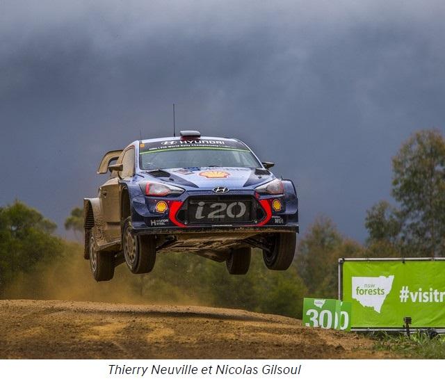 Rallye d'Australie, Hyundai Motorsport termine l'année 2017 avec une victoire et un double podium 1490832017neuvillegilsoul2017hd