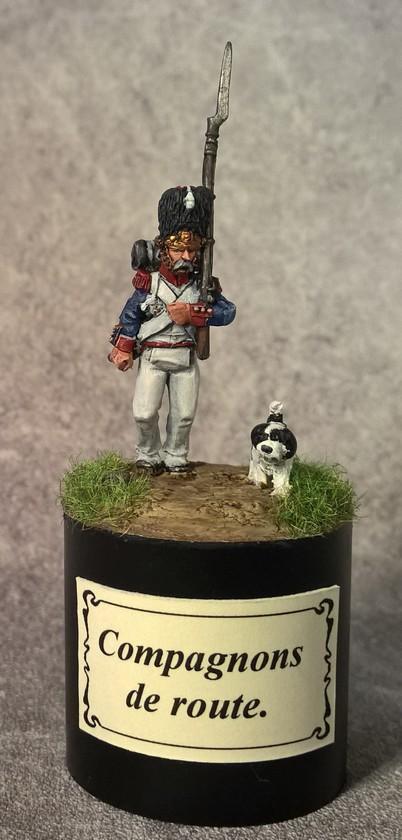 7ème régiment d infanterie légère - 1812 - Petite surprise ! 149410Grognardetchien1
