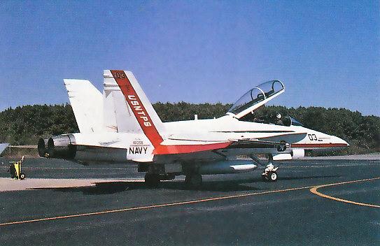 MCDONNELL-DOUGLAS F/A-18 HORNET  150176F_18B_Navy_Test_Pilot_School