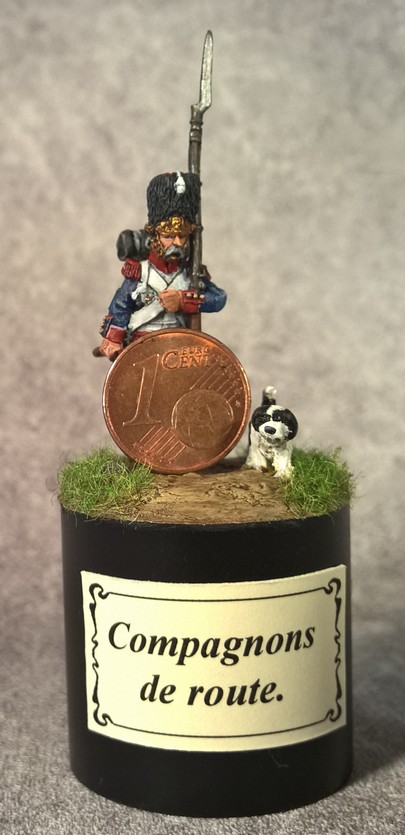 7ème régiment d infanterie légère - 1812 - Petite surprise ! 151357Grognardetchien5