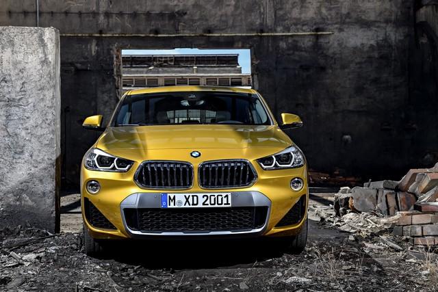 La nouvelle BMW X2 Silhouette élégante, dynamique exceptionnelle 152779P90278968highResthebrandnewbmwx2