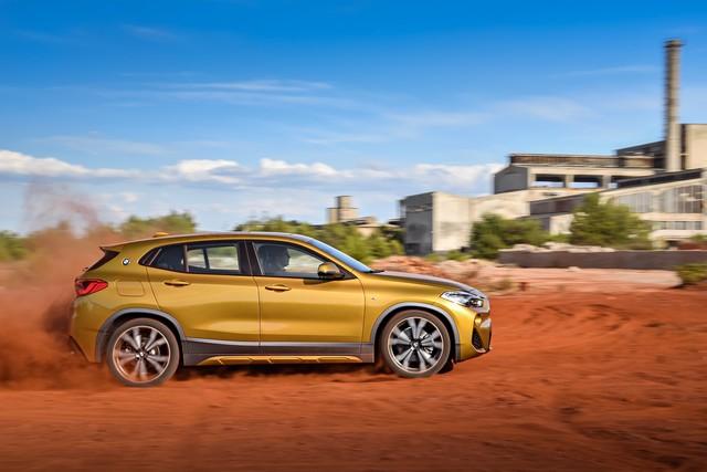 La nouvelle BMW X2 Silhouette élégante, dynamique exceptionnelle 155819P90278973highResthebrandnewbmwx2
