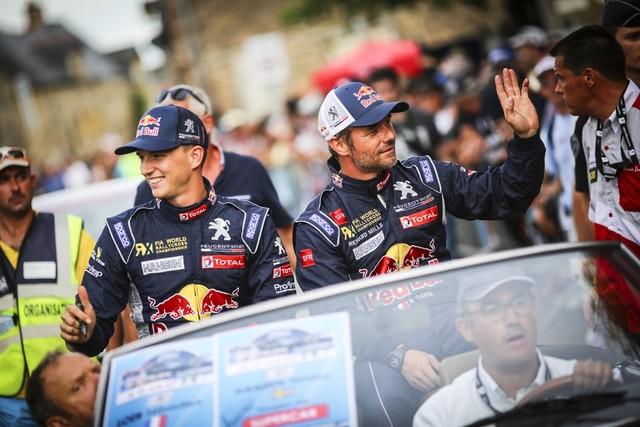 Rallycross - Beau podium de Sébastien Loeb et la PEUGEOT 208 WRX à domicile 1558252016RXFrance265
