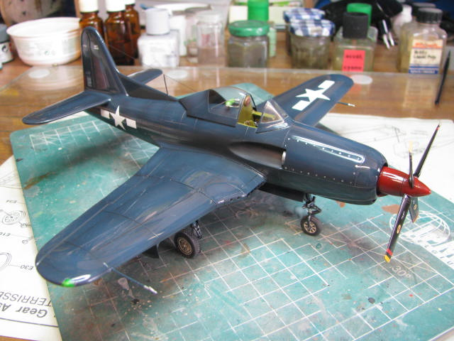 Ryan XF2R-1 Dark Shark Czech Model 1/48.....Terminé! - Page 4 157722IMG1331