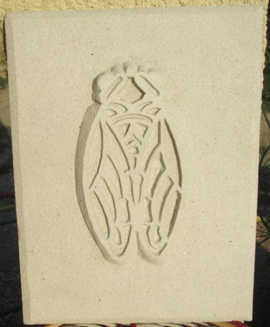 Ma cigale en sculpture 157872043