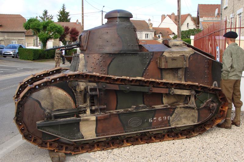 Berry-au-Bac, commémoration officielle du centenaire du premier combat de blindés français 157910DSC06783